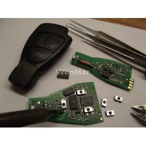 Mercedes 3 Knops Sleutel Reparatie Wenmar Nl